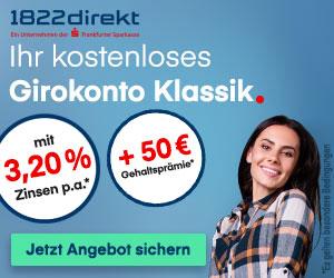 1822direkt Girokonto Premium
